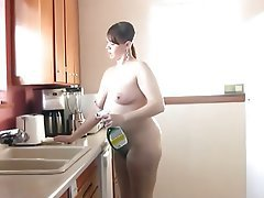BBW, Grosse Boobs, Nahes Hohes, Behaart