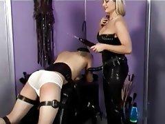 BDSM, Blondine, Femdom, Latex