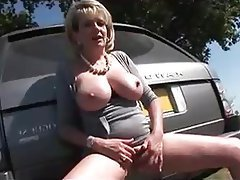 Outdoor, Foot Fetish, British, Big Boobs