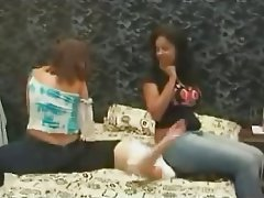 BDSM, Brésilienne, Assis sur le visage, Femme dominatrice