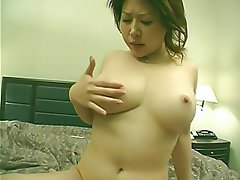 Blowjob, Asian, Big Boobs, Brunette