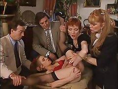 German, Group Sex, Hardcore