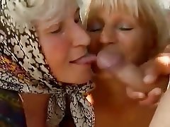 Cumshot, Granny, Mature, Old and Young