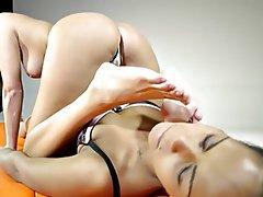 Brunette, Czech, Face Sitting, Femdom