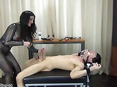 BDSM, Bondage, Cumshot, Femdom