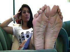 Asian, Foot Fetish
