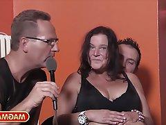 Amatér, Německo, Skupinový sex, Zralé ženy