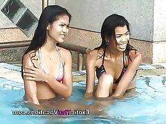 Asian, Casting, Lesbian, Teen