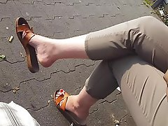 German, Foot Fetish, MILF