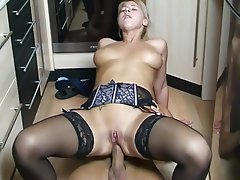 Anal, Blonde, German, Saggy Tits
