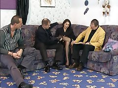 Anal, Brunette, Gangbang, German