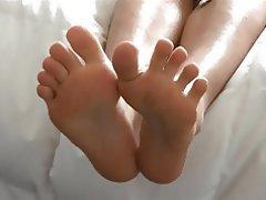 Femdom, Foot Fetish, Footjob, Softcore