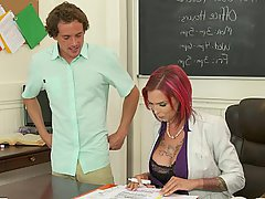 Teacher, MILF, Mature, Stockings