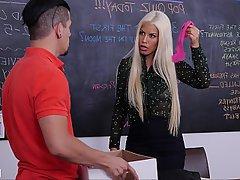 Teacher, Lingerie, Boobs, Panties