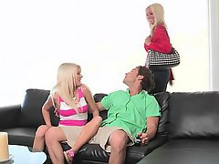 Baby, Grosse Tits, Blondine, Niedlich