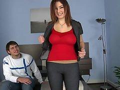 Amateur, Big Tits, Casting, Jeans