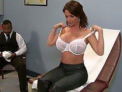 Arzt, Unterwäsche, Grosse Tits, Boobs