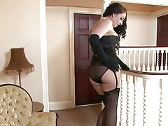 Korean, Midget, Spanking, Stockings