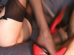 Close Up, Foot Fetish, French, Lingerie