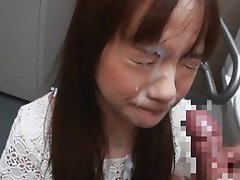 Asian, Blowjob, Cumshot, Facial