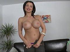 Babe, Big Tits, Blowjob, Brunette