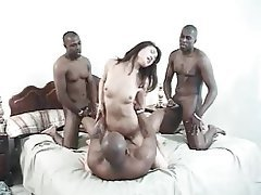 Asian, Gangbang, Hardcore, Interracial