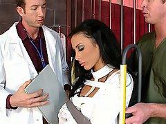 Doctor, Blowjob, Brunette
