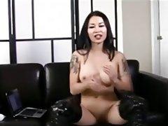 Asian, Brunette, Chinese, Femdom