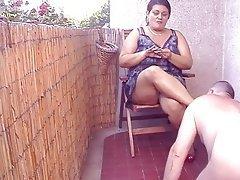 BBW, Face Sitting, Femdom, Indian