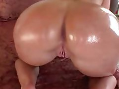 Blowjob, Brunette, Interracial