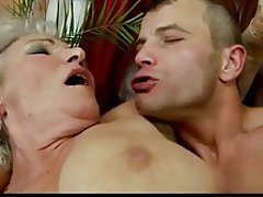 Creampie, Granny, Hairy, Old and Young