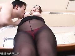 Big Tits, Blowjob, Panties, Secretary
