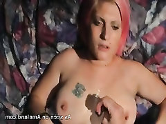 Grosse Tits, Blowjob, Angespritzt, POV