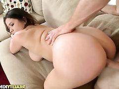 Babe, Big Tits, Blowjob, Cumshot