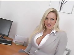 Big Boobs, British, Secretary, Squirt