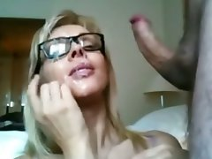 Amatoriale, Sborrata, Sperma in faccia, Orgasmo