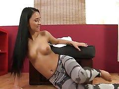 Babe, Brunette, Masturbation, Squirt