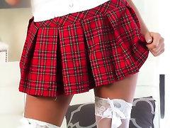 Anal, Babe, Panties, Stockings