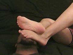 Sado maso, Donna dominante, Feticismo del piede