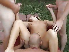 Facial, Group Sex, Hardcore, MILF