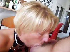 Ass Licking, BDSM, Blonde, Mature