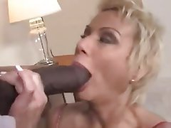Big Boobs, Blowjob, Mature, Interracial