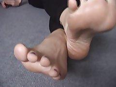 Amateur, Nahes Hohes, Fuß Fetisch