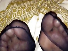 Amateur, Stockings, Foot Fetish