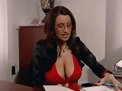 Grosse Boobs, Blowjob, Angespritzt, MILF