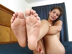 Amateur, Foot Fetish, POV, Stockings