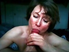 Amateur, Blowjob, Angespritzt