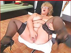 Amateur, Mature, Granny, Masturbation