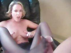 Amateur, Blowjob, Foot Fetish, Pantyhose