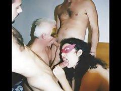 Bisexuellen, Gruppensex, Reifen, Italienisch